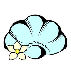 shell icon icon cartoon vector image