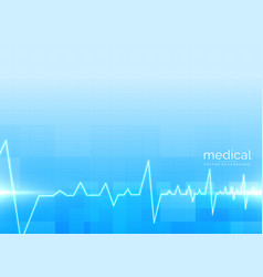 background for healthcare and medical science vector image