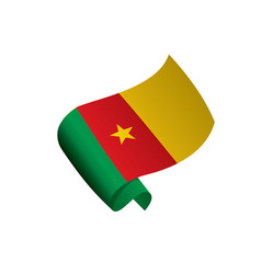 cameroon flag vector image
