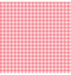 Checkered Tablecloth Seamless Pattern Background vector