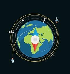 Compass flat design vector