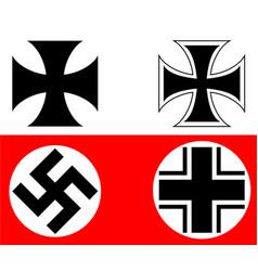 German cross vector