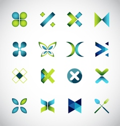 Icon design based on letter x vector image