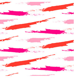 Paint splash brushstrokes seamless pattern vector