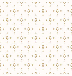 gold and white background luxury golden pattern vector image