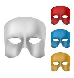 Mask set vector image