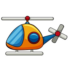 Helicopter toy vector image vector image