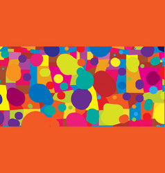 abstract colored background from blots and vector image