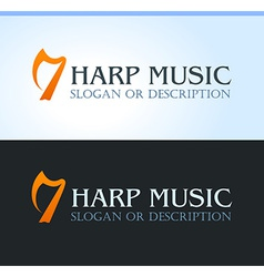 Celtic Music Logo vector image