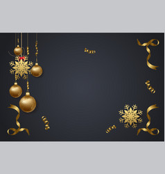 Christmas 2018 background with christmas confetti vector