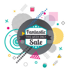Discount or special offer sale banner or flyer vector