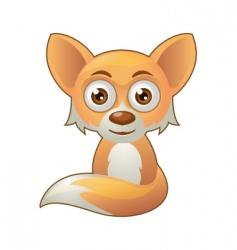 fox mascot vector image