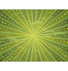 Grunge green antique background vector
