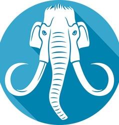 Mammoth icon vector