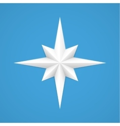 Old style compass vector