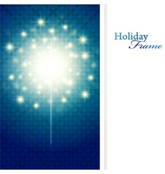holiday sparkle vector image vector image
