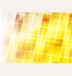 Abstract background - yellow geometric design vector
