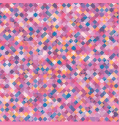 Abstract geometric background with squares vector