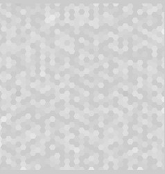 abstract white and gray hexagonal pattern vector image