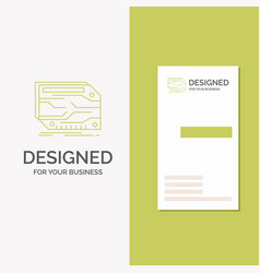 business logo for card component custom vector image