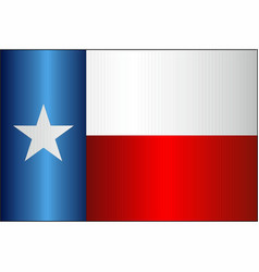 Grunge flag of texas vector