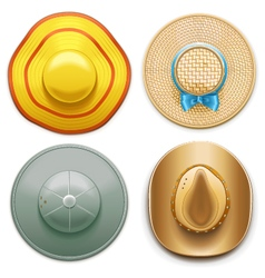 Hats set 2 vector