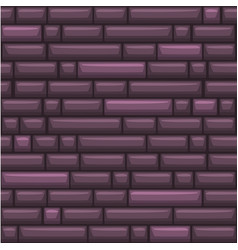 seamless texture placing purple stone wall vector image
