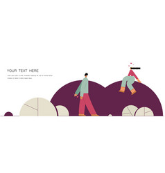 violet romantic template conversation lovers vector image