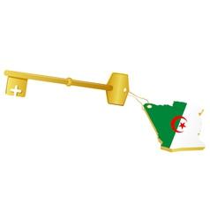 golden key vector image vector image
