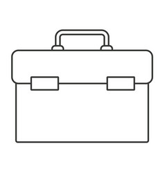 monochrome silhouette of plumbing tool kit vector image