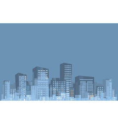 panorama of city vector image vector image
