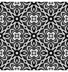 Flower Pattern Intricate Tile vector image vector image