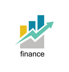 trade finance logo vector image vector image