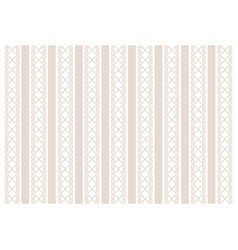 Background decorated with stripes and ornament vector