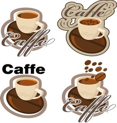 CAFFEE resize vector image