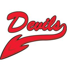 Devils logo vector