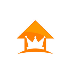King real estate vector