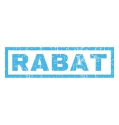 Rabat Rubber Stamp vector