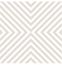 subtle geometric seamless pattern crossing lines vector image