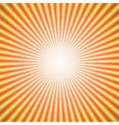 Star burst orange vector