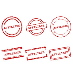 Affiliate stamps vector
