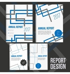 Brochure cover design templates with abstract vector image