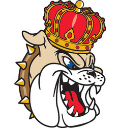 Dukes head logo mascot vector