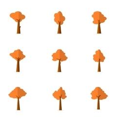 Flat of tree set vector