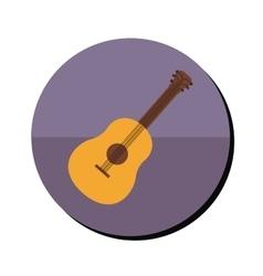 Guitar musical instrument vector
