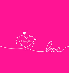 outline valentines day for design website vector image