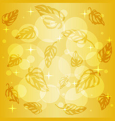pattern of colorful leaves monstera on background vector image