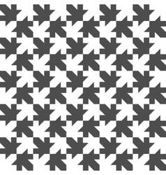 Seamless Maple Leaf Pattern Regular Tiled vector image