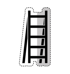 stair construction tool isolated icon vector image