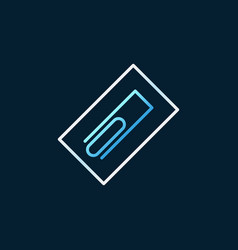 Trowel concept linear colored icon on dark vector
